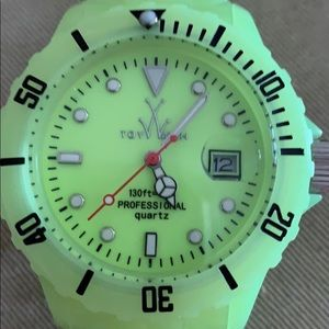 Toy watch. Neon yellow NWT
